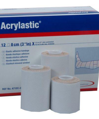 Acrylastic 4,5 m x 8 cm (12-pack)