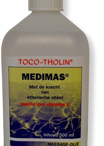 Toco-Tholin Medimas massageolie 500 ml