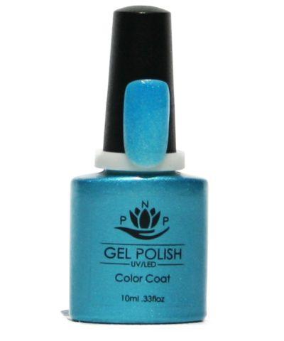 PNP Gellak Turquoise Glitter